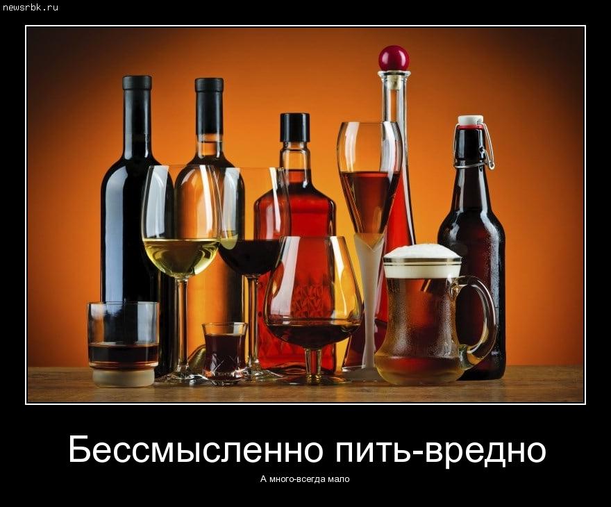 Бессмысленно пить-вредно